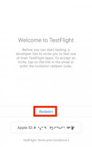 TestFlightRedeem